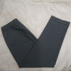 Liz Claiborne stain resistant gray career trousers